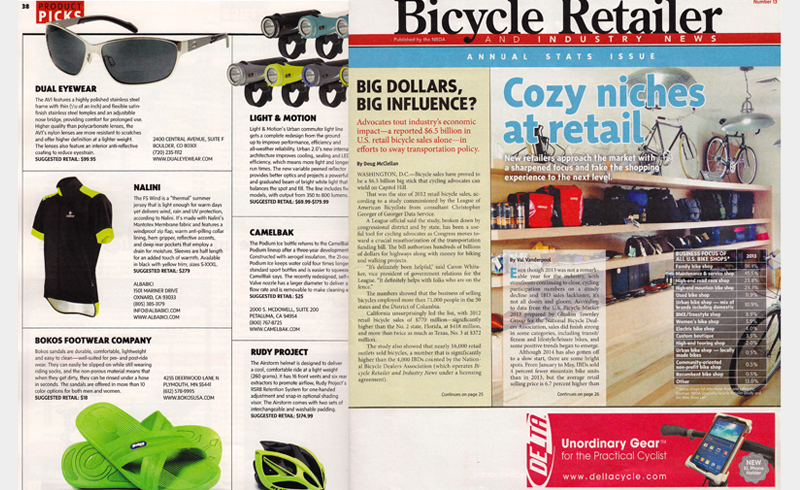Bicycle Retailer - Bokos Sandals