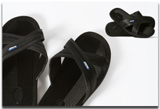 Bokos Men's Black Sandal